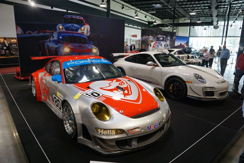 PORTLAND TRIBUNE: JEFF ZURSCHMEIDE - Two other racing Porsches on dispaly at World of Speed.
