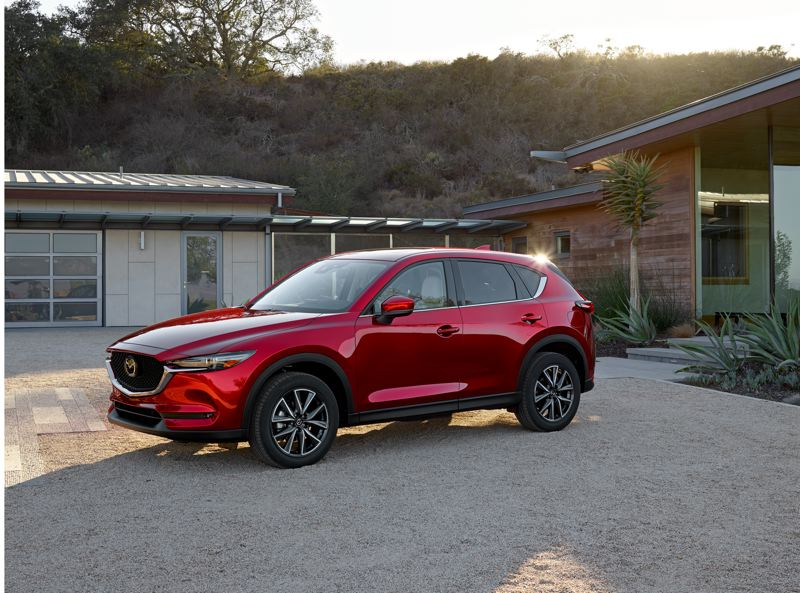 MAZDA NORTH AMERICAN OPERATIONS - After five years of production, the 2018 Mazda CX-5 is still one of the best looking compact crossover SUVs on the market.