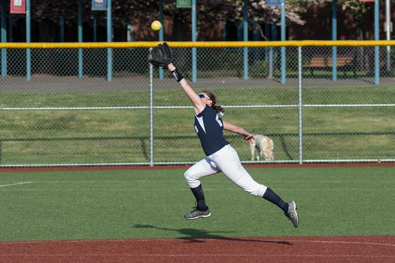 SUBMITTED PHOTO: GREG ARTMAN - Wilsonville will need to step up its defense and eliminate errors as the team moves toward the postseason. The team has given up 107 runs thus far into the season.