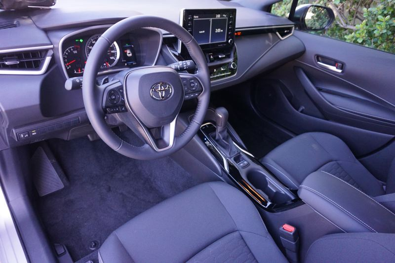 PORTLAND TRIBUNE: JEFF ZURSCHMEIDE - The Corolla comes with all the safety and tech goodies you could possibly want. You can get a nice 8-inch video display that supports Apple CarPlay. There's a JBL stereo option, too.
