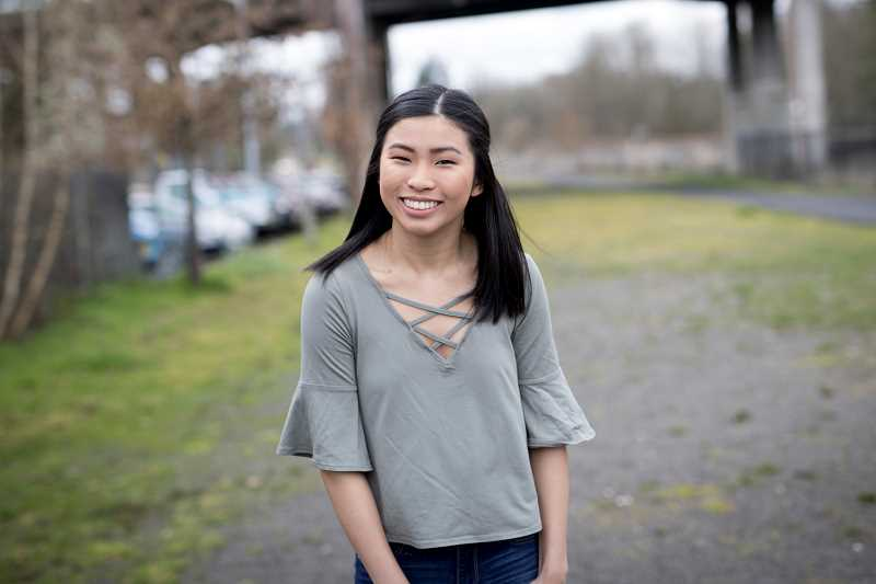PAMPLIN MEDIA GROUP: JAIME VALDEZ - Abby Lam keeps busy with myriad activities, including heading up THSs Sparrow Club, a group that helps young people with medical needs, to being a member of the Tigerettes Varsity Dance Team.