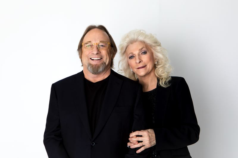 COURTESY PHOTO - The inspiration behind 'Suite: Judy Blue Eyes' by Crosby, Stills & Nash in 1969, Judy Collins performs with her former love Stephen Stills, the song's author, in Portland May 6-7. The duo released their first album together, 'Stills & Collins,' last summer.