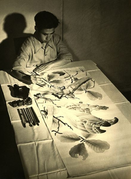 COURTESY PHOTO - Jimmy Mirikitani working in the 1940s.