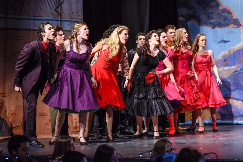 'West Side Story' at Sherwood High School.