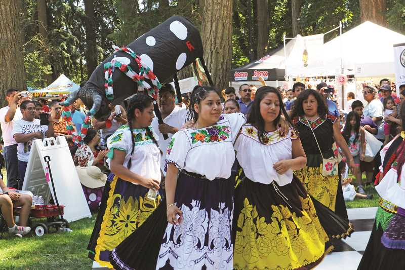 INDEPENDENT FILE PHOTO - Fiesta Mexicana has received an award from Travel Oregon.