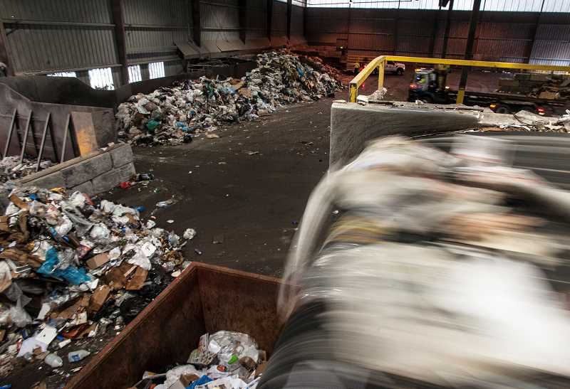 PAMPLIN MEDIA GROUP FILE PHOTO - Wilsonville could change its agreement with Republic Services for trash and recycling collection soon.