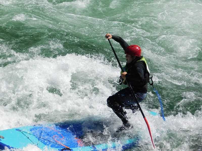 ESTACADA FILE PHOTO - Participants took on the rapids of the Clackamas River near Carter Bridge during the Upper Clackamas Whitewater Festival last year.