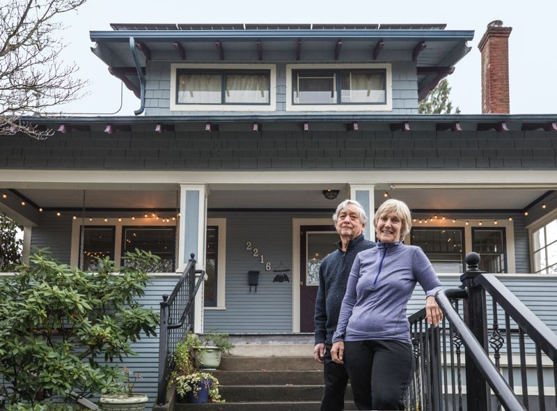 PORTLAND TRIBUNE: JONATHAN HOUSE - Michael Kronenthal and Lynn Merrick were among the first Portlanders to obtain a Home Energy Score on their house. They were surprised that their Mount Tabor home wasn't as energy-efficient as they thought.