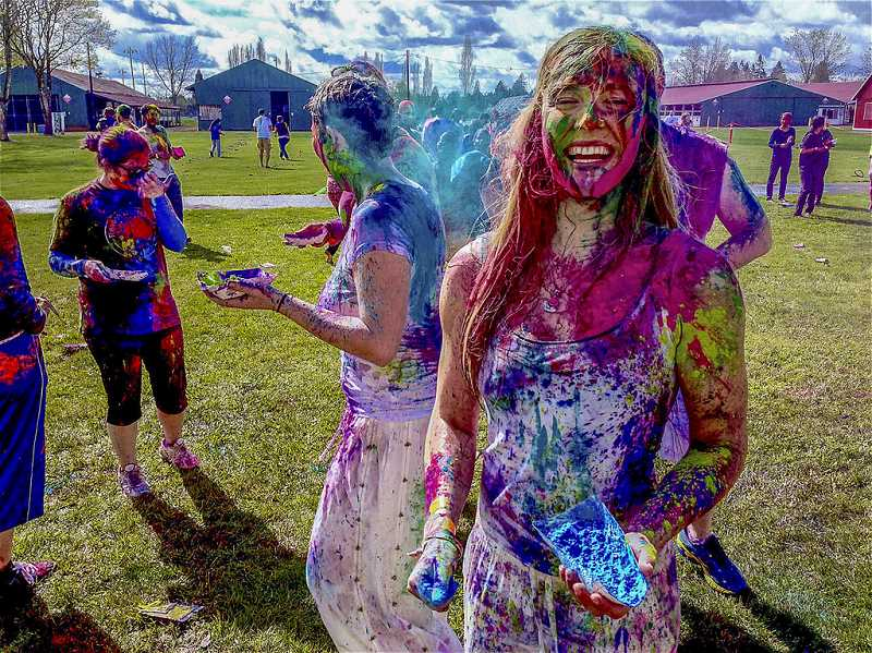 STAFF FILE PHOTOS - A celebration of Holi, the Hindu Festival of Color will take place at the Fairgrounds Sports Complex on May 12. The cost to attend is $14 plus a minimal service fee.