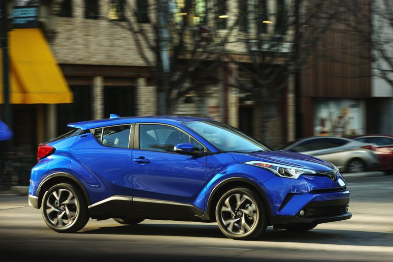 TOYOTA MOTOR CORP. - The 2018 Toyota C-HR is one of the most striking vehicles on the market.