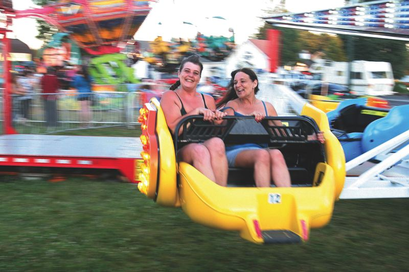 FILE PHOTO - The carnival, a popular fixture of the Sandy Mountain Festival, is canceled for 2018.