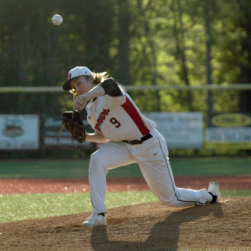 SANDY POST: MATT RAWLINGS - Kyle Hudson pitches a complete-game two-hitter against La Salle in Sandy's 11-0 win.