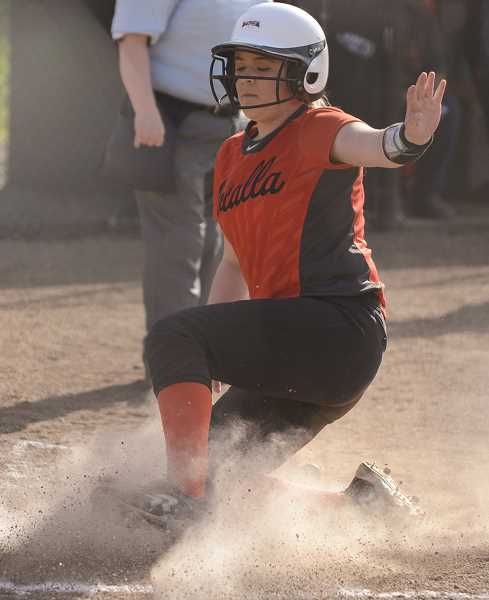 DAVID BALL - Molalla fell to 3-11 overall after a late rally against league foe Corbett was unable to put the team in the lead. Corbett defeated Molalla 3-4 on Wednesday, April 25.