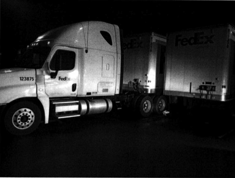 OUTLOOK PHOTO - Incident ruled an accident a FedEx facility in October, 2017.