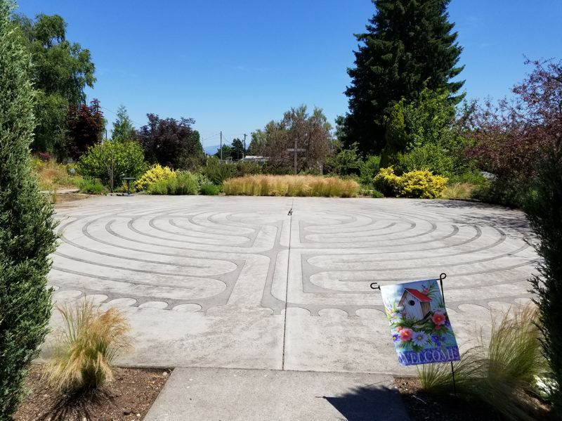 CONTRIBUTED PHOTO - The 10th annual World Labyrinth Day Walk for Peace will be held Saturday, May 5, at St. Lukes Episcopal Church in Gresham. See listing for details.