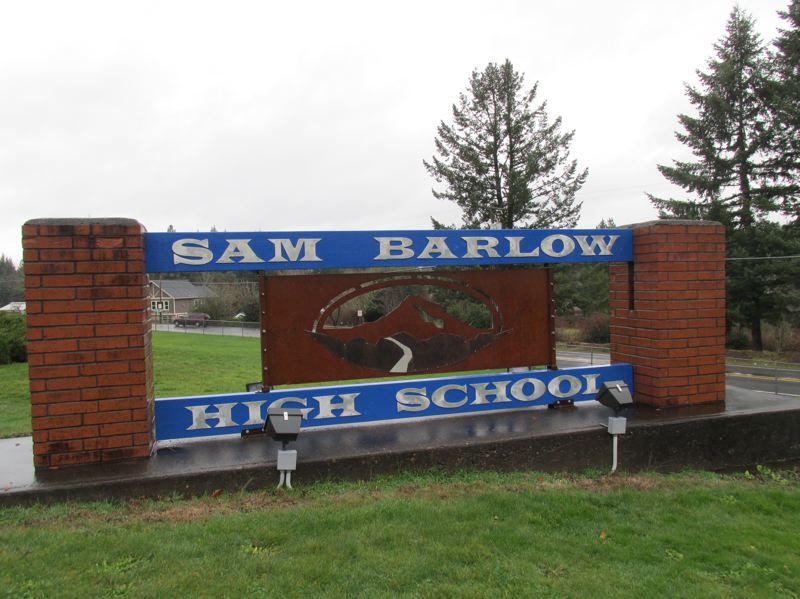 OUTLOOK PHOTO: TERESA CARSON - Barlow High School turned 50 years old this year, just as the shool will be renovatd and a long-awaited sports stadium added.