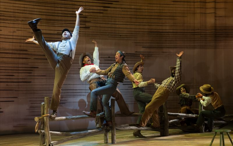 PHOTO: JENNY GRAHAM, OREGON SHAKESPEARE FESTIVAL - Theatergoers can take in a gender fluid version of Pultizer Prize-winning musical Oklahoma! in September with Mt. Hood Community College at the Oregon Shakespeare Festival.