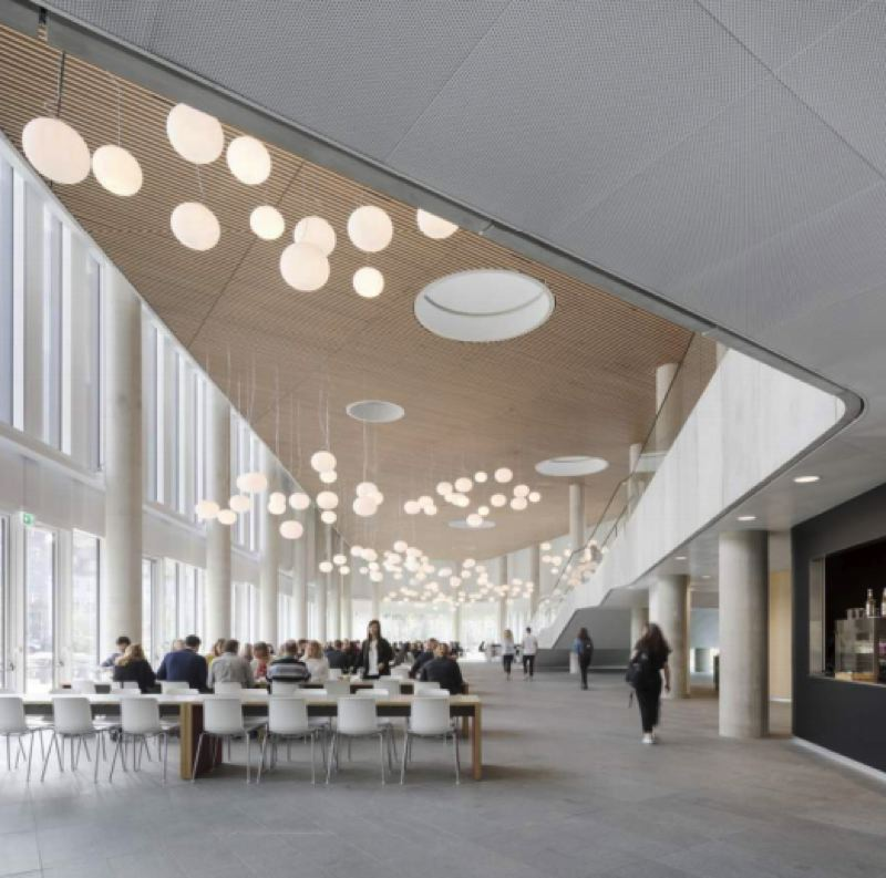 COURTESY: PPS  - An example of how a modern high school could look, taken from the Design Advisory Group's concept presentation in March 2018.