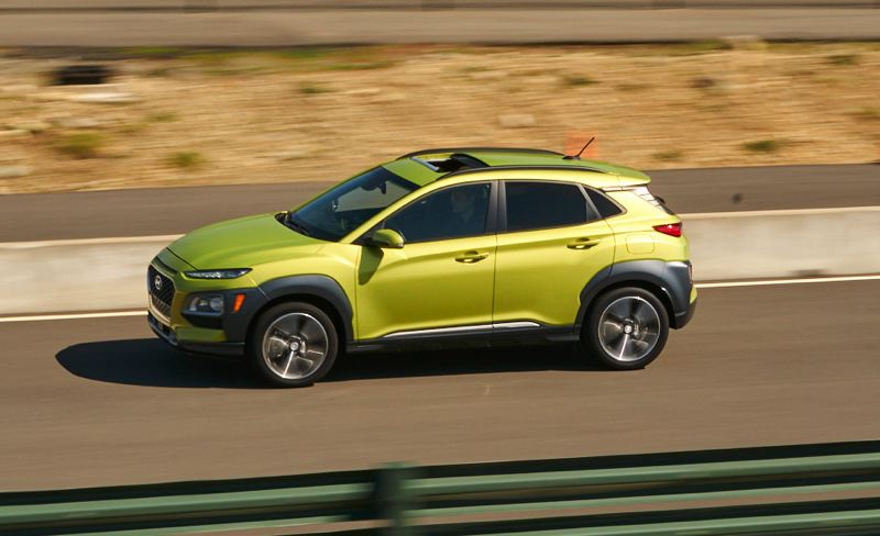 RYAN DOUTHIT/NWAPA - The all-new 2018 Hyundai Kona won the Subcompact SUV category.