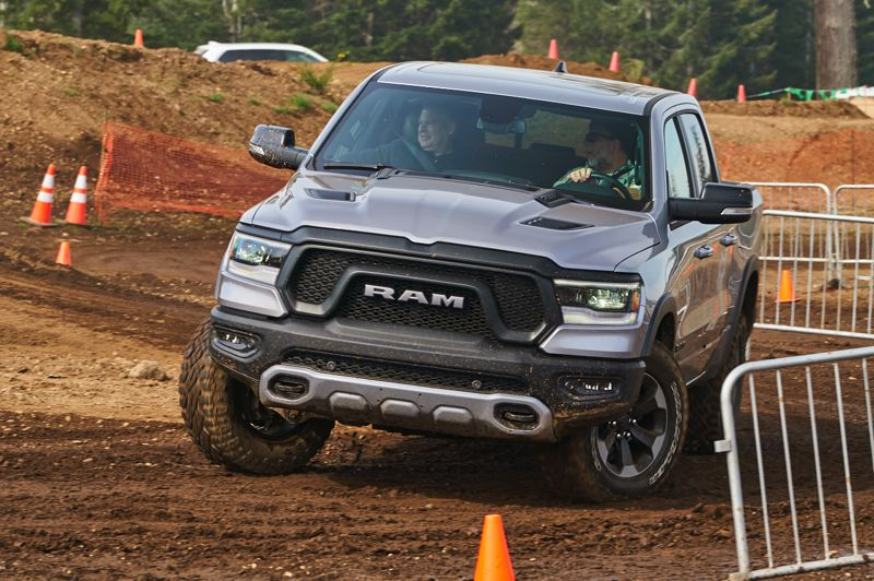 RYAN DOUTHIT/NWAPA - The 2019 Ram 1500 Rebel for best pickup truck.