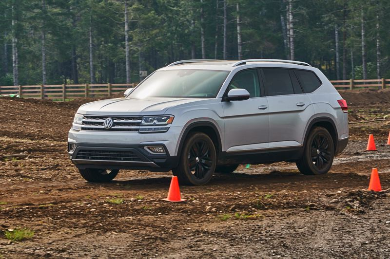 RYAN DOUTHIT/NWAPA - The all-new 2018 Volkswagen Atlas was named best Family SUV.
