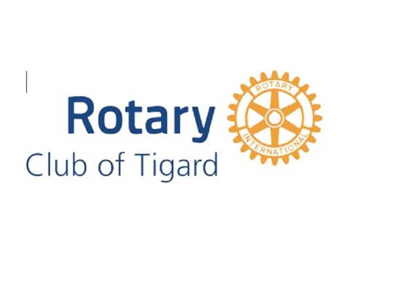 SUBMITTED PHOTO - Rotary Club of Tigard honored Tigard High Students with $16,000 in scholarships.