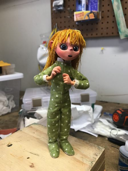 COURTESY PHOTO - The main character in the book 'The Whatamagump' is Julie, who befriends a lovable monster. Project head Bryan McIntyre envisions big things for the book, if things work out well.