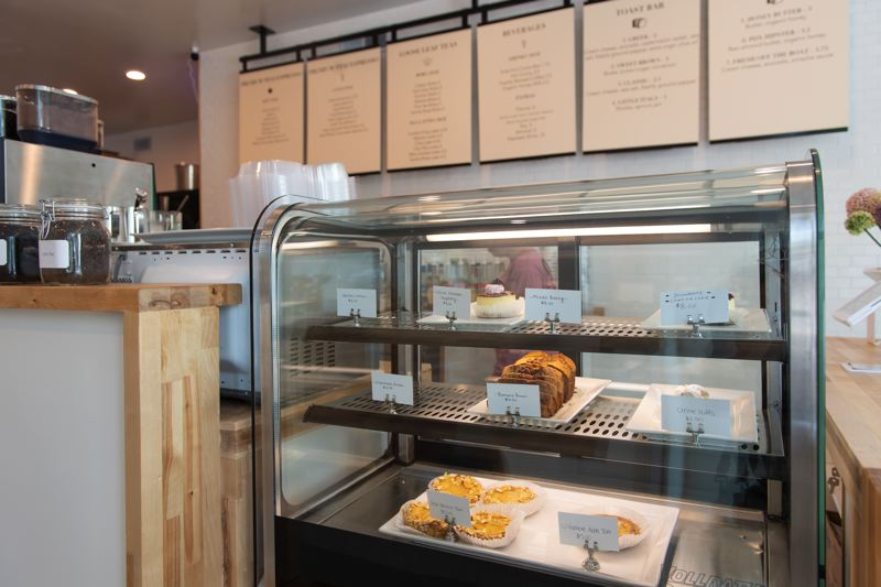 STAFF PHOTO: CHRISTOPHER OERTELL - Many varieties of desserts are available at Kafe in Forest Grove.