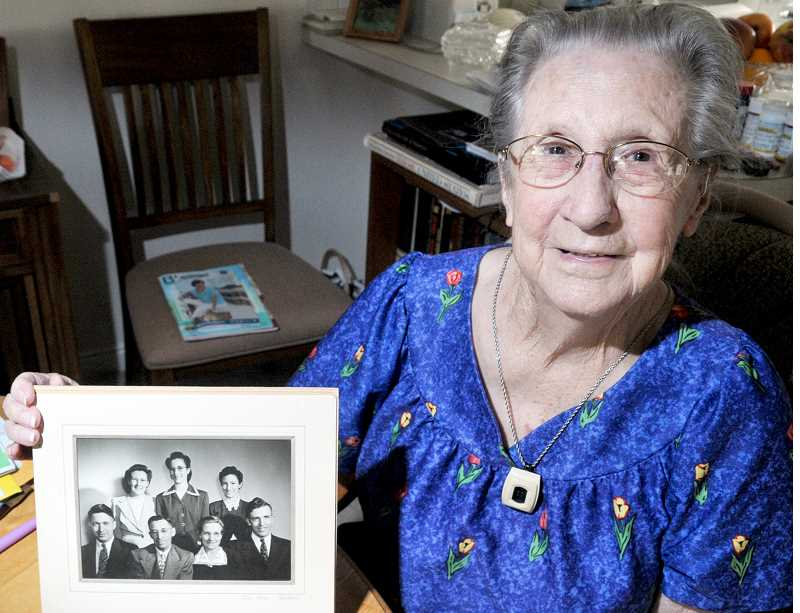 GRAPHIC FILE PHOTO - Newberg has seen a rash of residents turning 100 years old in the past six months, all of them complete with memories of how things were in the early 1900s.
