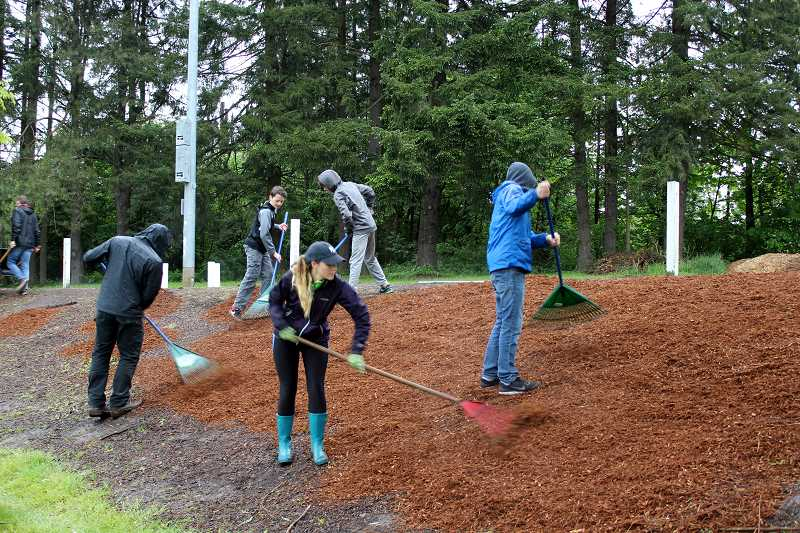 SPOKESMAN FILE PHOTO - Help improve local parks during the annual W.E.R.K. day of service in Wilsonville May 12.