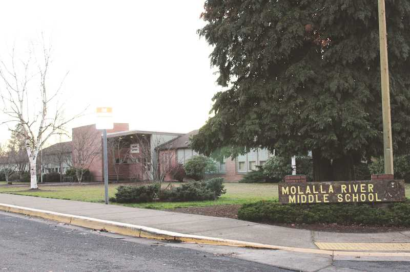 PIONEER PHOTO: KRISTEN WOHLERS - Molalla River Middle School is a certified green school.