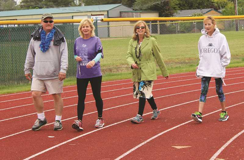 FILE PHOTO - Molalla and Canby Relay for Life events are combining this year. A meeting is set for May 16 at 7 p.m. at Smyrna United Church of Christ.