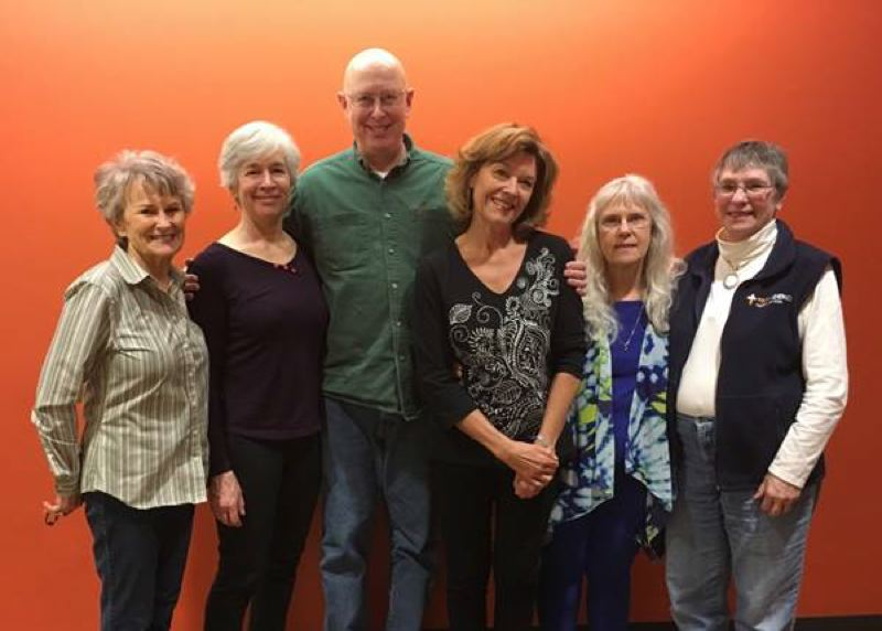 COURTESY WASHINGTON COUNTY - Storytellers who will participate in the May 15 program in Hillsboro sponsored by Washington County Disability, Aging and Veteran Services. From left, Sandy Shipley, Gini Graham, Greg Sievers, Janis Collins, Donna Root, Phyllis Harmon.
