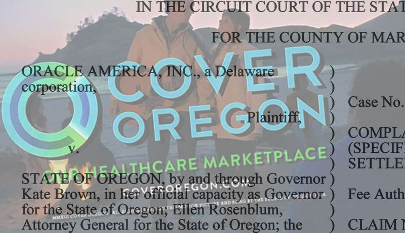 PAMPLIN FILE PHOTO - Oregon's failed health insurance enrollment website cost $300 million in federal funds and tens of millions in state funds to build and never enrolled anyone. The state was locked in a legal battle with Oracle America for months over the failure before eventually settling the case for a fraction of its losses.