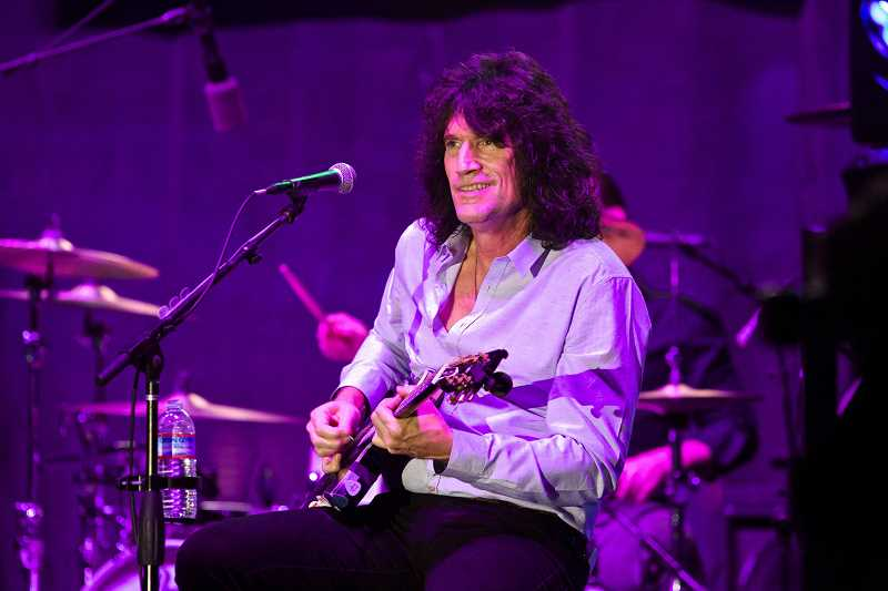 STAFF FILE PHOTO - KISS guitarist Tommy Thayer has been on the Pacific University board since 2005. The Beaverton native will receive his honorary degree from Pacific this month.