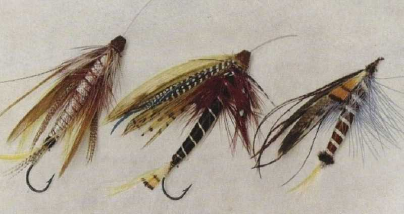COURTESY PHOTO: CLACKAMAS FLY FISHERS - Tube flies (left and center) provide a versatile strategy for fly fishers worldwide who are looking to catch all different types of fish. Tube flies have been known to land more fish, last longer and are easy to change out hooks.