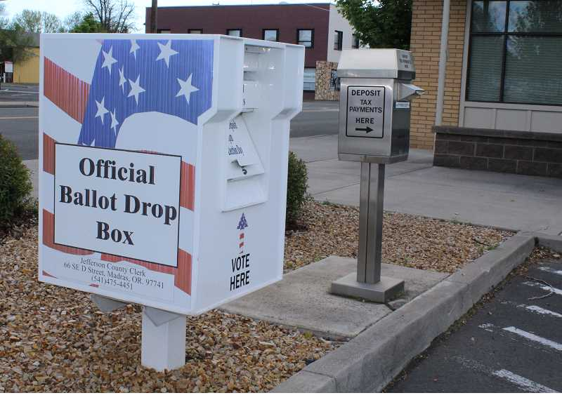 HOLLY M. GILL - Ballots for the May 15 primary election are due at the Jefferson County Courthouse Annex or a ballot drop box by 8 p.m. on election day.