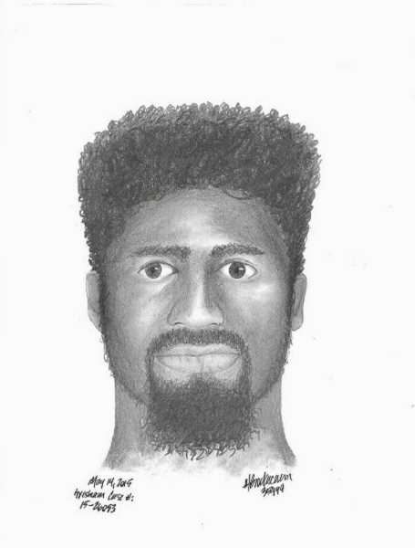 CONTRIBUTED PHOTO: GRESHAM POLICE DEPARTMENT - A sketch of how one witness described one of the men who killed Erick Austin Carnegie.