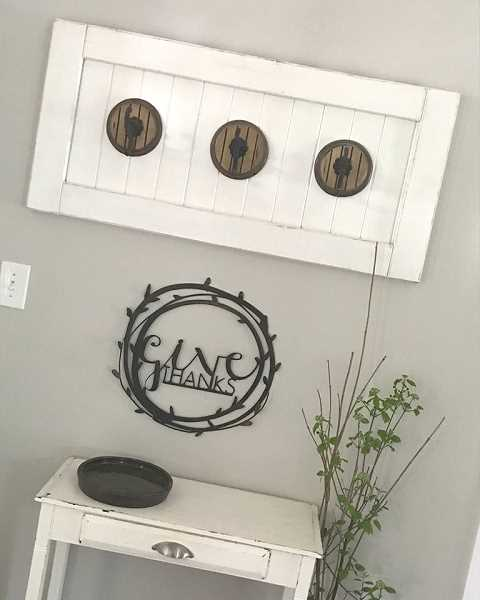 COURTESY PHOTO - Heather's entryway is pictured here.