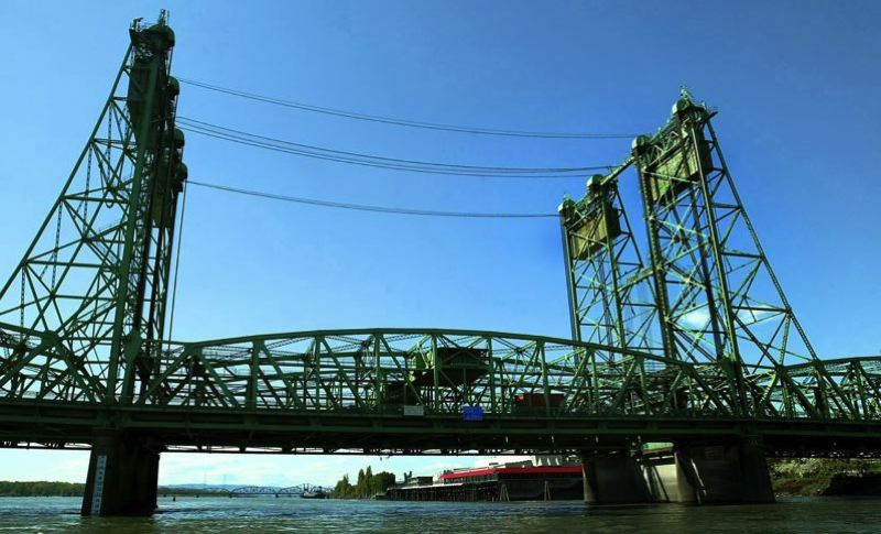 FILE PHOTO - The Interstate Bridge allows drivers on I-5 to cross between Oregon and Washington.