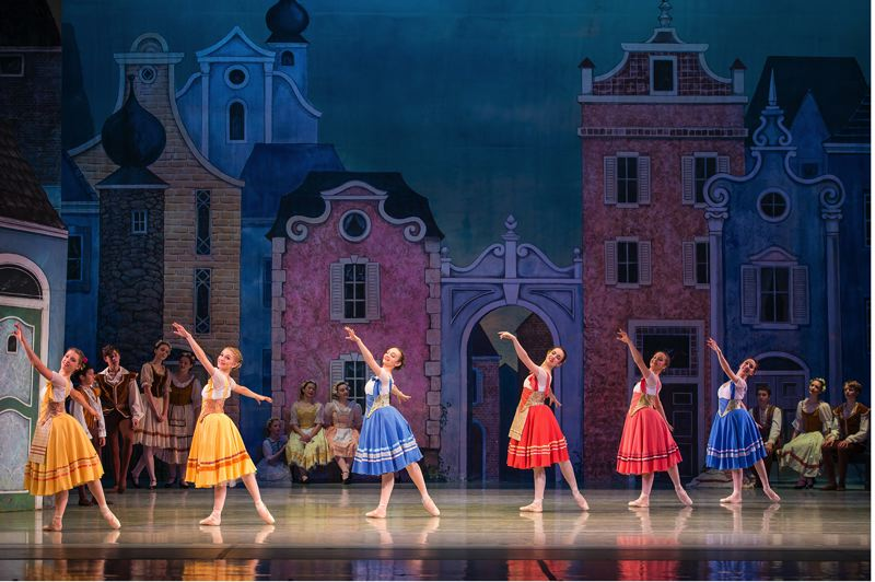 PHOTOS BY YI YIN - Ensemble in the School of Oregon Ballet Theatre performance of 'Coppelia.'