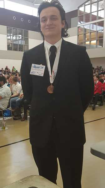 James Rhodes was a bronze medalist.