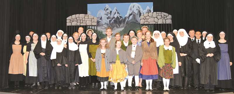 PIONEER PHOTO: CINDY FAMA - The cast of 'The Sound of Music.'