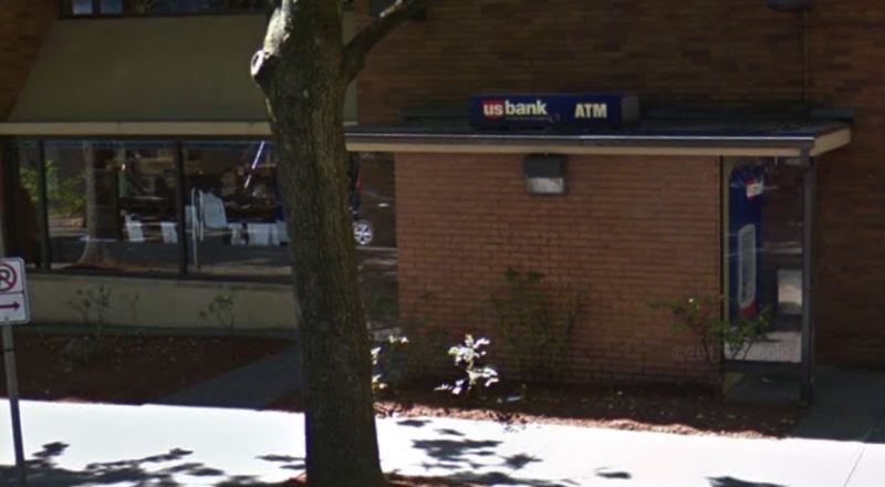 COURTESY GOOGLE MAPS - A screenshot taken from Google Maps shows the U.S. Bank at 410 Southwest Harrison Street in 2017.