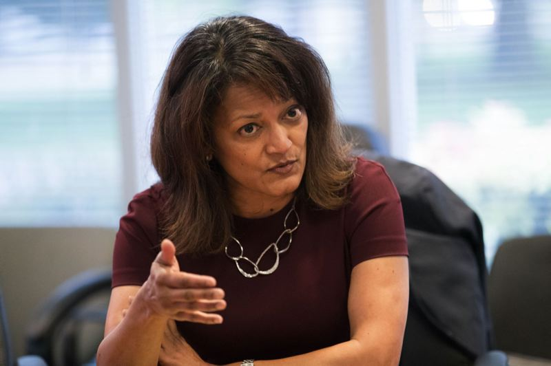 TRIBUNE FILE PHOTO - Susheela Jayapal, the frontrunner to represent North and Northeast Portland on the Multnomah County board, is a former lawyer and community activist.