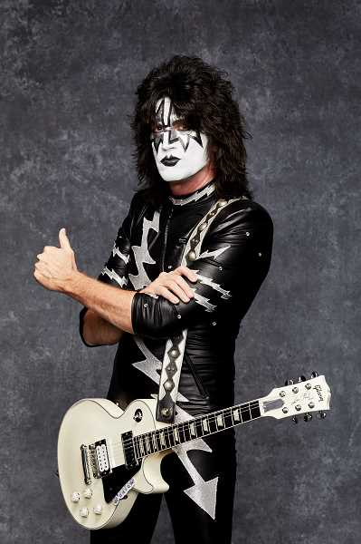 COURTESY PHOTO - Tommy Thayer as The Spaceman poses for a Kiss publicity photo.
