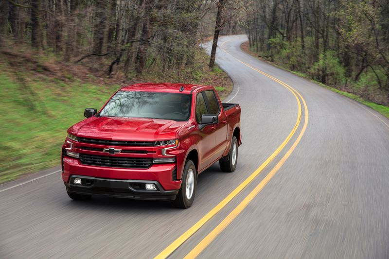 COURTESY CHEVY - In high-volume trims, the 2019 Chevy Silverado RST comes standard with an all-new, advanced 2.7L Turbo engine and an eight-speed automatic transmission.
