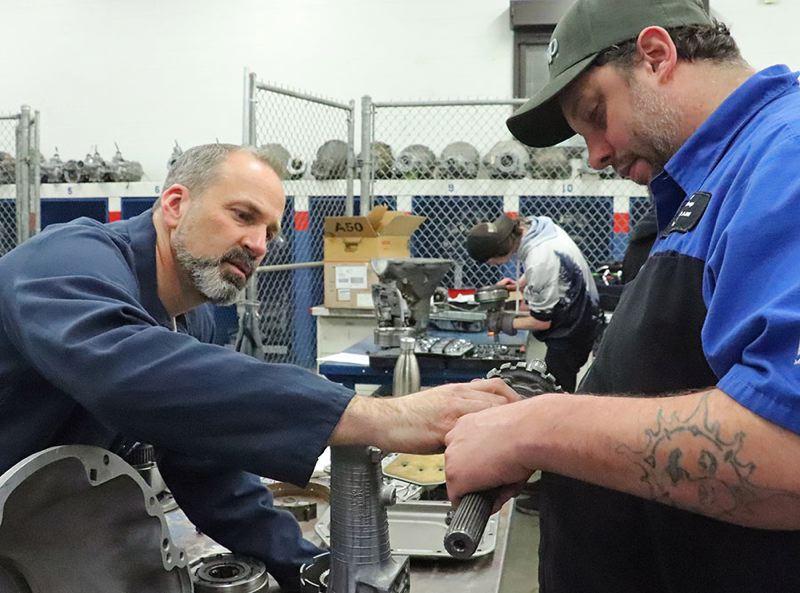CONTRIBUTED PHOTO: MT. HOOD COMMUNITY COLLEGE - The new Subaru U certificate program is turning out technicians to maintain and repair the popular Japanese cars.