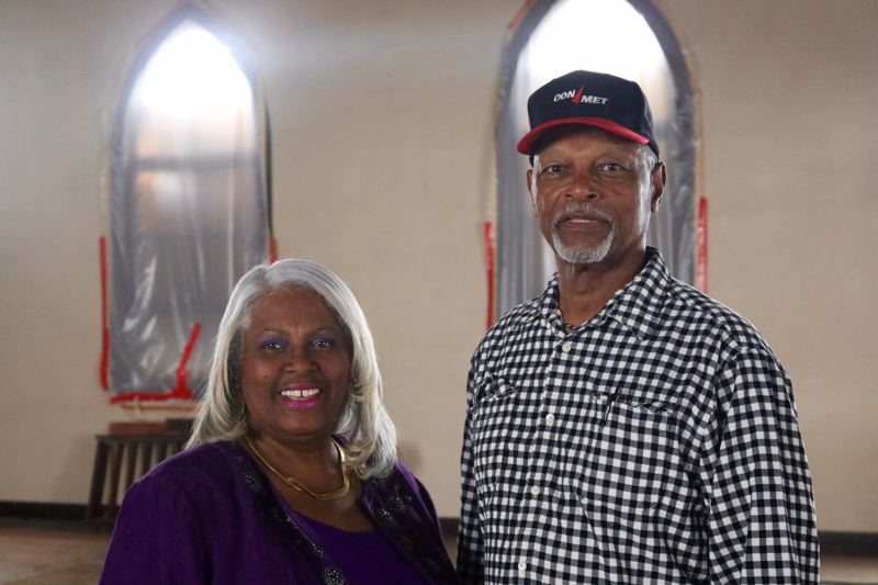 TRIBUNE PHOTO: ZANE SPARLING - Michelle Harper and Bill Green are both heavily involved in the leadership of Allen Temple Church in Portland.