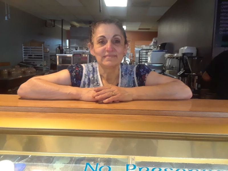 OUTLOOK PHOTO: SHANNON O. WELLS - Selma Khoury has put her heart and soul into a variety of Mediterranean specialities at her family's downtown Gresham bakery for the past 12 years. She will close the restaurant for good on Saturday, May 19.